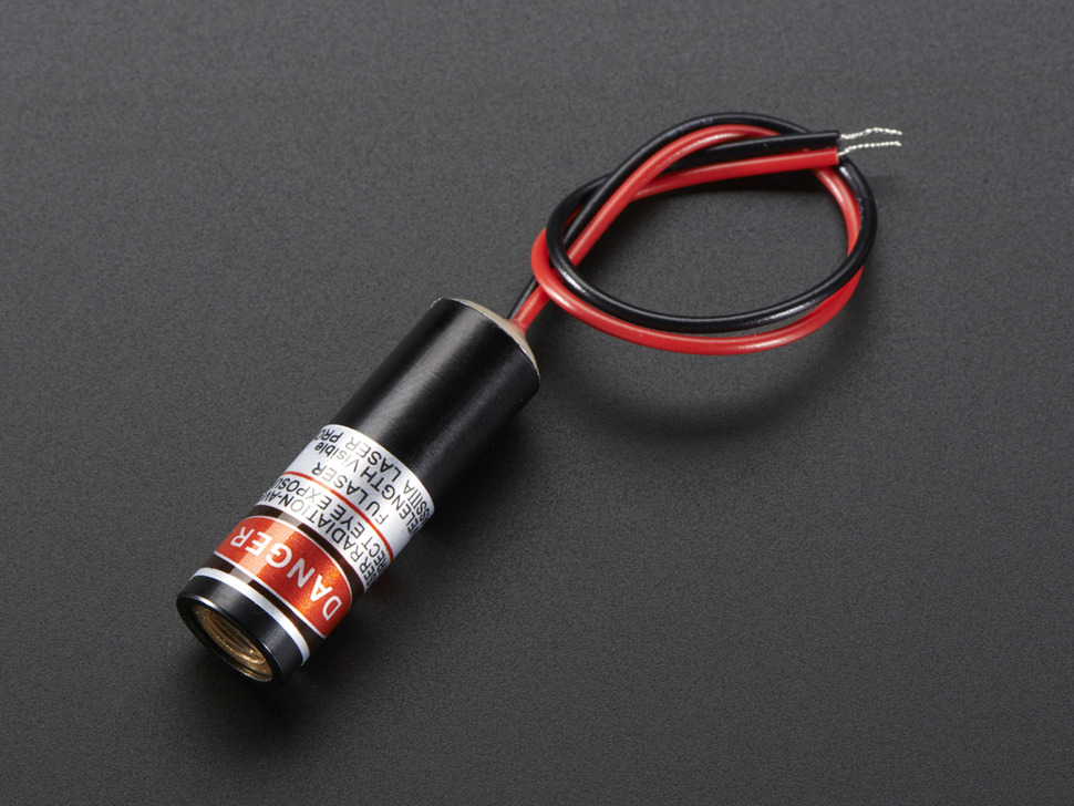 Line Laser Diode - 5mW 650nm Red