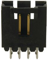 WIRE-BOARD CONNECTOR HEADER 4 POSITION, 2.54MM 2452453