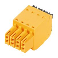 Pluggable Terminal Block, 3.5 mm, 16 Ways, 26 AWG, 16 AWG, 1.5 mm², Push In, Also Known As	B2CF 3.50/16/180 SN BK BX , 281-2970-ND