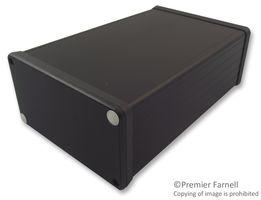 BOX, BLACK, PLASTIC END PLATE