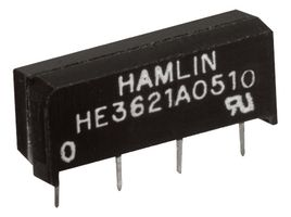 RELAY, REED, SPST-NO, 200V, 0.5A, THT