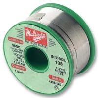 SOLDER WIRE, LEAD FREE, 1.2MM X 2M