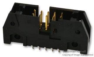 WIRE-BOARD CONNECTOR, HEADER, 10 POSITION, 2.54MM