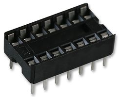 SOCKET IC, DIL, 0.3