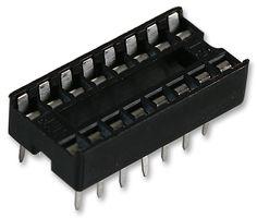 SOCKET IC, DIL, 0.3