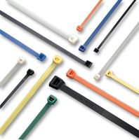 CABLE TIE, 190X4.8MM, BRN, PK100