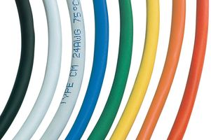 UNSHIELDED MULTIPAIR CABLE 4PR 500FT YELLOW