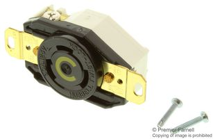 CONNECTOR, POWER ENTRY, RECEPTACLE, 30A