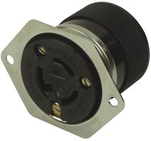 CONNECTOR, POWER ENTRY, RECEPTACLE, 15A