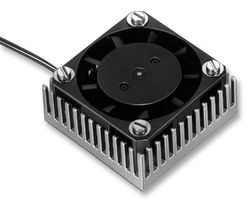 HEAT SINK, CPU, WITH FAN 12VDC