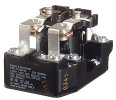 RELAY, SPST-NO, 277VAC, 50VDC, 25A