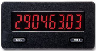 COUNTER/TACHOMETER, BACKLIT LCD