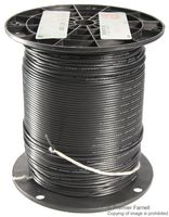 COAXIAL CABLE, RG-174/U, 1000FT, BLACK