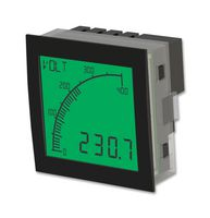 DIGITAL VOLTMETER, POS LCD, 0 TO 600VDC